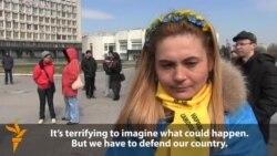 Border-Town Activists Ready To Defend Ukraine