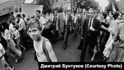 Ельцин Казанда. 6 август 1990