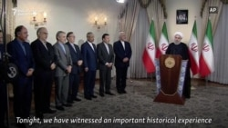 Iran's Rohani Slams Washington Over Nuclear Deal