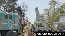 Место крушения Ан-26 в Харьковской области, 26 сентября 2020 года
