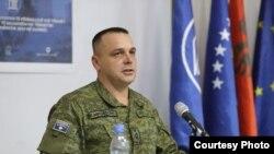 Kolonel Ejup Maqedonci - Shef i Departamentit për Operacione dhe Trajnime në FSK.