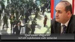"""""""Əliyev hakimiyyətə camaatı döyə-döyə gəlib"""""""