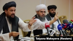 Пресс-конференция талибов в Москве