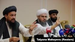 """""""Талибан"""" кыймылынын өкүлдөрү. Москва, 7-июль, 2021-жыл."""