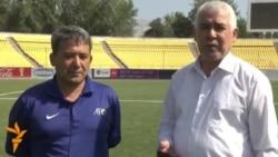 Бойирҷон Эгамбердиев, собиқадори футбол