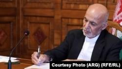 محمداشرف غنی رئیس جمهور افغانستان که کشور را ترک کرده