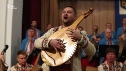 Сергій Захарець виконує «Пісню про Бондарівну» на старосвітській бандурі
