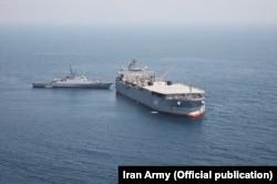 ناوگروه ۷۵ پس از بازگشت به آبهای سرزمینی ایران