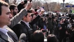 Armenian Opposition Alliance Takes Anti-Government Protests To Yerevan's Universities