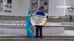 Караметов на Майдане: «Коренной народ Крыма требует крымскотатарскую автономию» (видео)