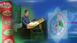 Türkmənistan televiziyası prezident Berdimuhamedovu göstərib