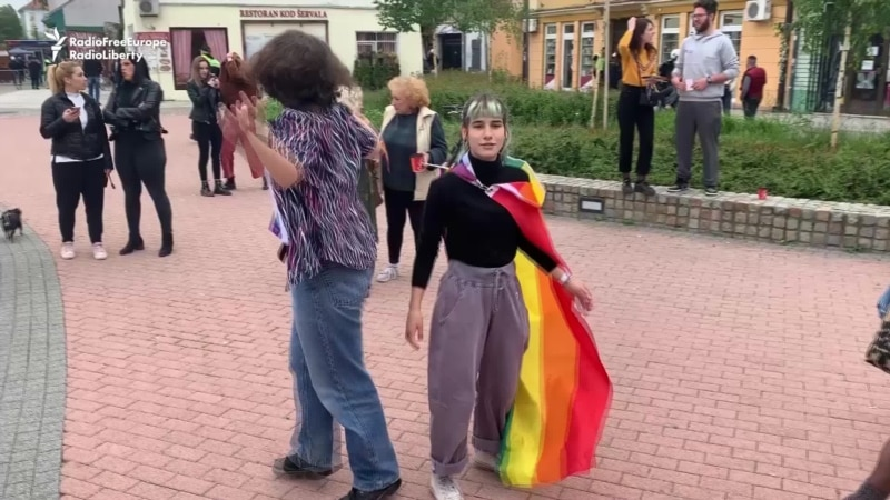 Inaugural Gay-Pride Event Comes To Serbia's Second City