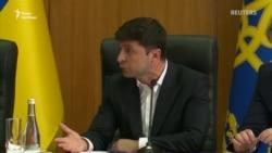 «Вийди звідси, розбійник ти. Погано чуєш?» – Зеленський вигнав з наради секретаря міськради Борисполя (відео)
