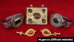 Коллекция украшений знати аланских племен III века