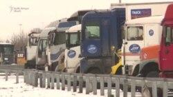 Camionagii din întreaga Rusie au început o grevă generală