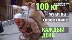 25 йил давомида кунига 100 килограмм юк ташиган покистонлик