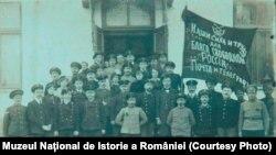 Angajați ai Poștei și Telegrafului din Chișinău, 1917. Sursa: Expoziția Marele Război, 1914-1918