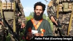 یک نظامی پاکستان که به تازگی در جریان درگیری با نیروهای امنیتی افغان در پکتیا بازداشت شده است.