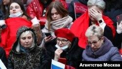 Концерт на стадионе по случаю аннексии Крыма