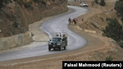 Pakistani soldiers in the South Waziristan region near the Afghan border. (file photo)