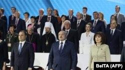 Падчас так званага Ўсебеларускага народнага сходу, Менск, 11 лютага 2021