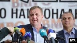 Лидерот на ВМРО-БНД Красимир Каракачанов