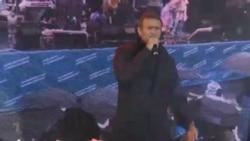 Навальный на концерте