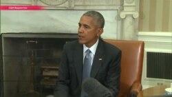 Барак Обама и Дональд Трамп встретились в Белом доме