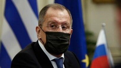 Šef ruske diplomatije Sergej Lavrov tokom posete Grčkoj u ponedeljak, 26. oktobar 2020.