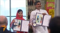Malala Yousafzai And Kailash Satyarthi Receive Joint Nobel Award