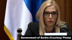 Maja Popović, ministarka pravde Srbije