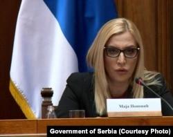Ministarka pravde Maja Popović