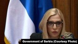 Српската министерка за правда Маја Поповиќ.