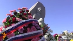 Открытие памятника Калашникову в Гюмри