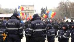O nouă zi de proteste la Chişinău