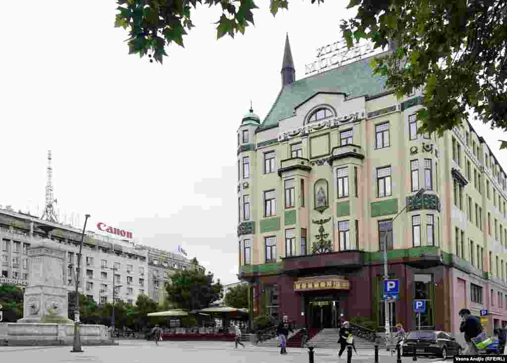 Serbia - Belgrade - Moscow Hotel
