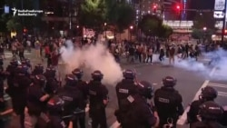 Second Night Of Riots In Charlotte