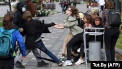 Акции протеста в Минске 1 сентября