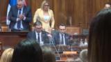 Vučić predstavio Skupštini Srbije izveštaj o dijalogu sa Kosovom