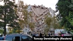 Последствия землетрясения в провинции Измир, Турция. 30 октября 2020 г.