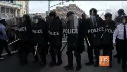 В Балтиморе произошли беспорядки после похорон Фредди Грея