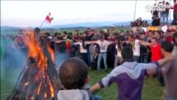 Навруз в лагере мигрантов и беженцев