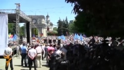 In Chisinau, Moldova, Thousands Demonstrate Against Corruption And Fraud.