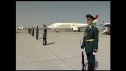 Сафари Эмомалӣ Раҳмон ба Бишкек