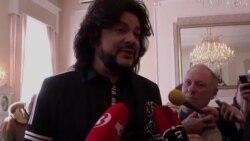 Ф. Киркоров голосует в Вильнюсе