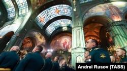 Освящение главного храма Вооруженных сил России (иллюстративное фото)