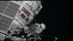 Kosmonavtlar açıq kosmosa çıxdılar