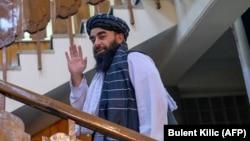 Забехулла Муджахид, официальный представитель «Талибан»