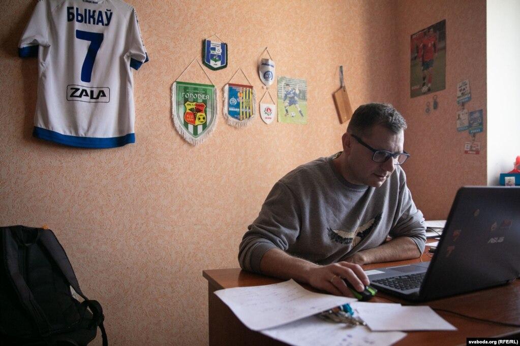 Журналіст «Трыбуны» Андрэй Маслоўскі