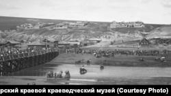 Похороны рабочего Михаила Чальникова. 1905 г.